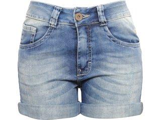 Bermuda Feminina Cavalera Clothing 08.02.0616 Jeans - Tamanho Médio