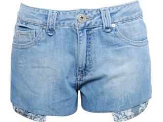 Short Feminino Dopping 013511501 Jeans - Tamanho Médio