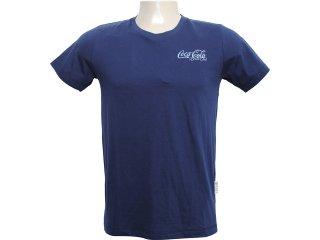 Camiseta Masculina Coca-cola Shoes 353202497 Marinho - Tamanho Médio