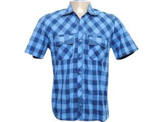 Camisa Masculina dj 01021179 Azul - Tamanho Médio