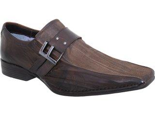 Sapato Masculino Ferracini 4772 Café - Tamanho Médio