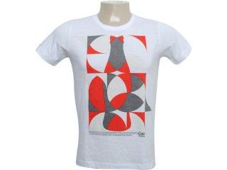 Camiseta Masculina Coca-cola Clothing 353202860 Branco - Tamanho Médio