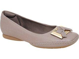 Sapato Feminino Usaflex 3131 Taupe - Tamanho Médio