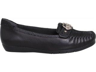Sapato Feminino Comfortflex 93204 Preto - Tamanho Médio