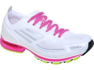 Tênis Feminino Adidas Adizero F50 G41415  Branco/pink - Tamanho Médio