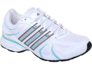 Tênis Feminino Adidas Shikoba 2 G29662  Branco/azul - Tamanho Médio