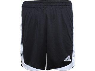 Calçao Masculino Adidas O07506 Preto/branco - Tamanho Médio