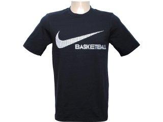 Camiseta Masculina Nike 439542-010 Preto - Tamanho Médio