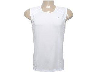 Regata Masculina Nike 458966-100 Branco - Tamanho Médio