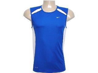 Regata Masculina Nike 458966-400 Azul - Tamanho Médio