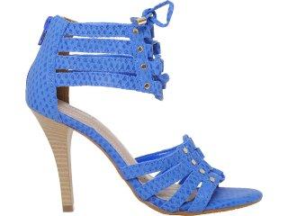 Sandália Feminina Via Marte 11-14802 Azul - Tamanho Médio