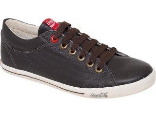 Tênis Masculino Coca-cola Shoes Cc811000 Marrom - Tamanho Médio