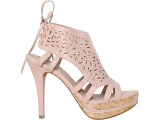 Sandal Boots Feminina Via Marte 11-16401 Pêssego - Tamanho Médio