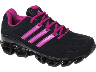 Tênis Feminino Adidas Ambition pb U42369  Preto/pink - Tamanho Médio
