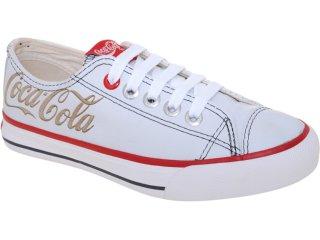 Tênis Feminino Coca-cola Shoes Cc0701700 Branco - Tamanho Médio