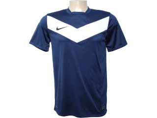 Camiseta Masculina Nike 413146-411 Marinho/branco - Tamanho Médio
