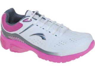 Tênis Feminino Kolosh 7754 Branco/pink - Tamanho Médio