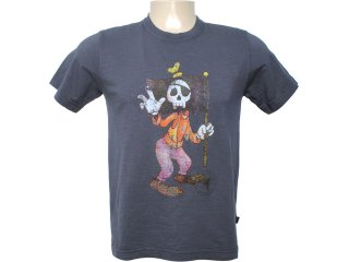 Camiseta Masculina Cavalera Clothing 01.01.6080 Chumbo - Tamanho Médio