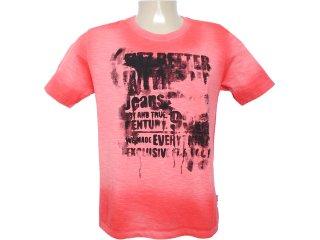 Camiseta Masculina Cavalera Clothing 01.01.6088 Laranja - Tamanho Médio