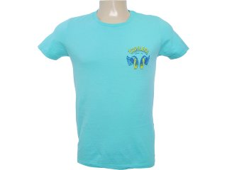 Camiseta Masculina Cavalera Clothing 01.01.6285 Verde - Tamanho Médio