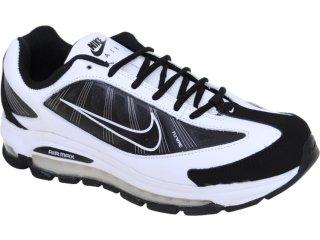 Tênis Masculino Nike Air Max 443942-100 Branco/preto - Tamanho Médio