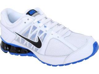 Tênis Masculino Nike Reax Run 472773-100 Branco/azul - Tamanho Médio