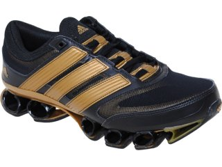 Tênis Masculino Adidas Titan U42628  Preto/dourado - Tamanho Médio