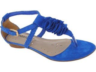 Sandália Feminina Via Marte 11-11705 Azul - Tamanho Médio