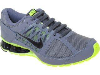 Tênis Masculino Nike Reax 472773-002 Chumbo/limão - Tamanho Médio