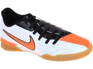 Tênis Masculino Nike jr Exacto 474133-100 Bco/pto/laranja - Tamanho Médio