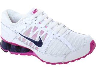 Tênis Feminino Nike Reax 472647-100 Branco/violeta - Tamanho Médio