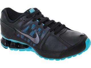 Tênis Feminino Nike Reax 472646-001 Preto/celeste - Tamanho Médio