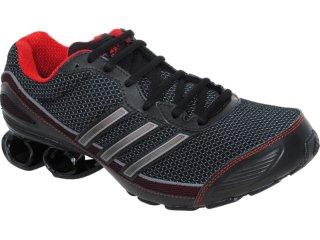 Tênis Masculino Adidas Cosmos G41731 Preto/vermelho - Tamanho Médio