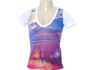 Camiseta Feminina Coca-cola Clothing 343200405 Branco - Tamanho Médio