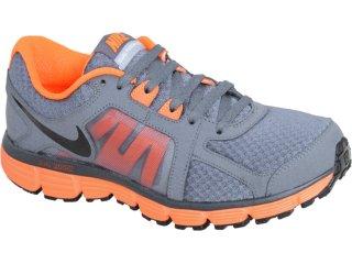 Tênis Masculino Nike Dual Fusion 454242-001 Chumbo/laranja - Tamanho Médio