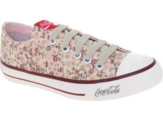 Tênis Feminino Coca-cola Shoes Cc1010001 Purpura - Tamanho Médio