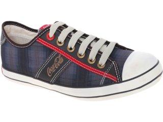 Tênis Masculino Coca-cola Shoes Cc0101702 Brow - Tamanho Médio