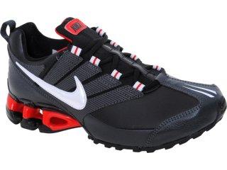 Tênis Masculino Nike Impax 371343-009 Preto/vermelho - Tamanho Médio