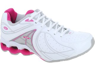 Tênis Feminino Olympikus Limber 751 Branco/pink - Tamanho Médio