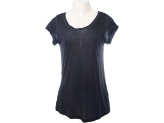 Camiseta Feminina Lupo 76120 Preto - Tamanho Médio