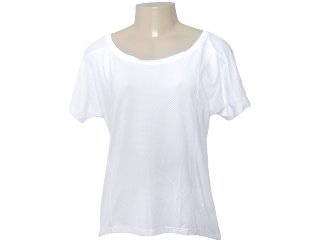 Camiseta Feminina Lupo 76150 Branco - Tamanho Médio