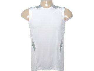 Regata Masculina Adidas O03735 Branco/cinza - Tamanho Médio