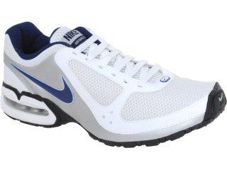 Tênis Masculino Nike Air Max 445603-103  Branco/marinho - Tamanho Médio
