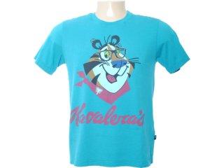Camiseta Masculina Cavalera Clothing 01.01.5851 Azul - Tamanho Médio