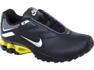 Tênis Masculino Nike Impax 386501-012 Preto/amarelo - Tamanho Médio