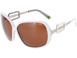 óculos Feminino Mormaii 0511 Ilheus Branco/marrom - Tamanho Médio