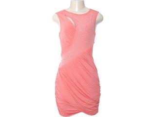 Vestido Feminino Moikana 4023 Coral - Tamanho Médio