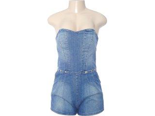 Macaquinho Feminino Index 16.01.0114 Jeans - Tamanho Médio