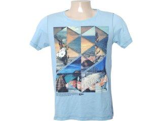 Camiseta Masculina Coca-cola Shoes 353202456 Azul - Tamanho Médio