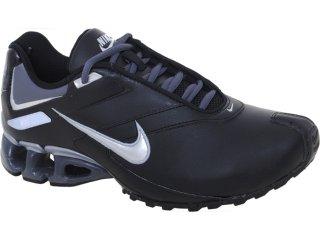 Tênis Masculino Nike Impax Emirro 386501-013 Preto/prata - Tamanho Médio